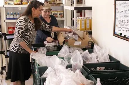 Food banks serve needy during holidays